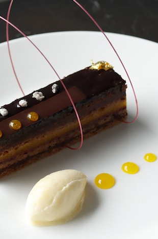 Palace Hotel Tokyo Grand Kitchens Autumn 2019 Cassis Opera Cake T2