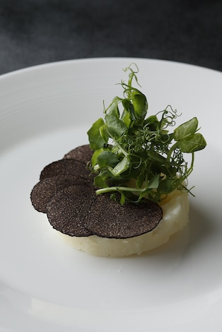 Palace Hotel Tokyo Grand Kitchens Christmas 2018 Mash Potato with Truffles T2