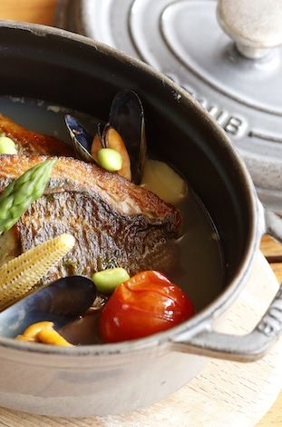 Palace Hotel Tokyo Grand Kitchens Summer 2018 Cocotte T2