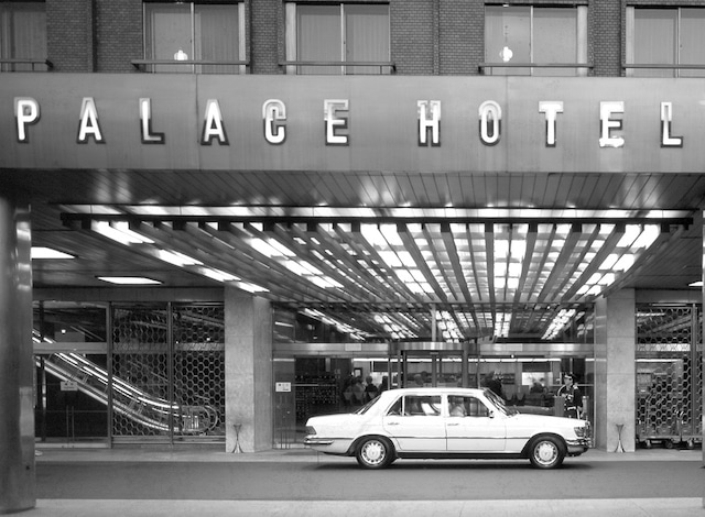 Palace Hotel Tokyo – History – Palace Hotel Driveway – H2