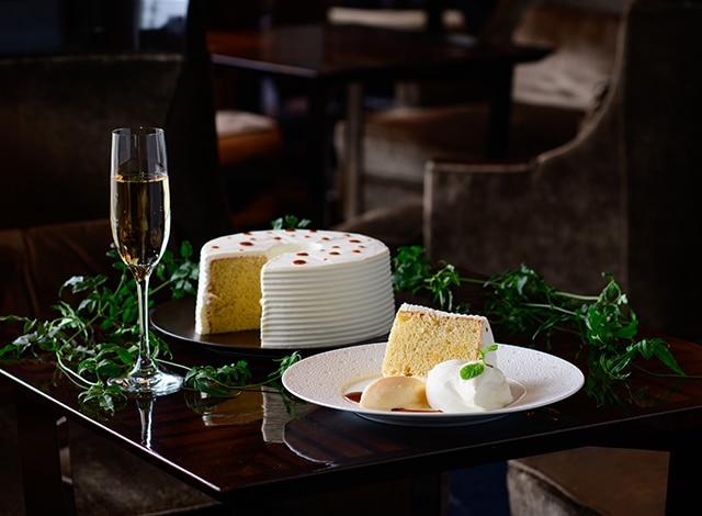 Palace Hotel Tokyo Lounge Bar Privé Chiffon Cake Banana II H2