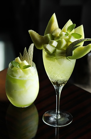 Palace Hotel Tokyo Lounge Bar Privé Summer 2019 Melon Cocktails T2