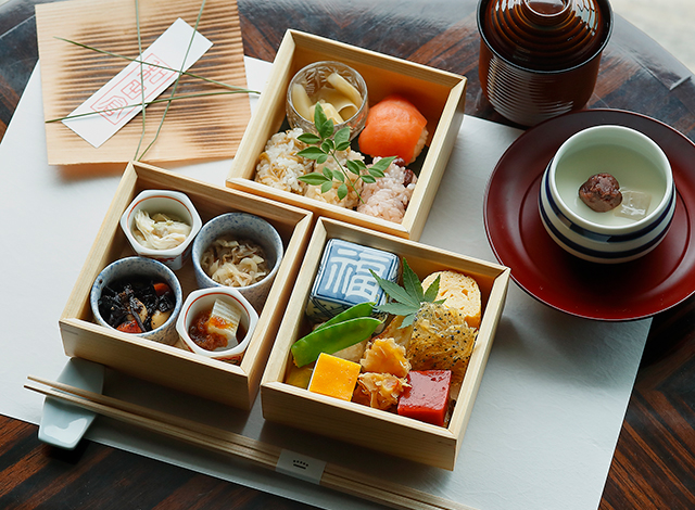 Palace Hotel Tokyo Lounge Bar Prive Seasonal Bento Soso Winter H2