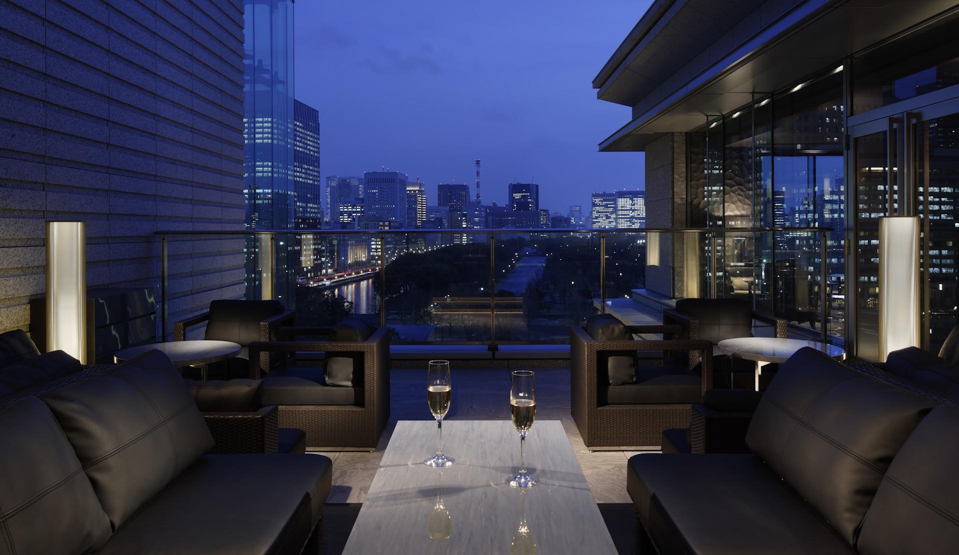 Palace Hotel Tokyo – Lounge Bar Prive Terrace – F2