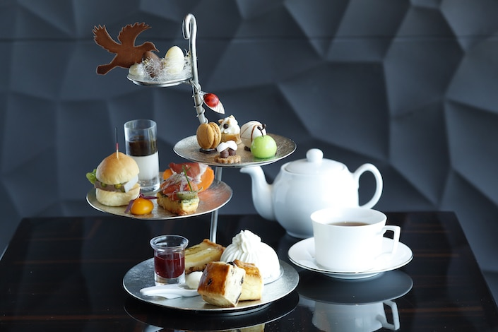 Palace Hotel Tokyo – Lounge Bar Prive's Autum 2017 Afternoon Tea – H2