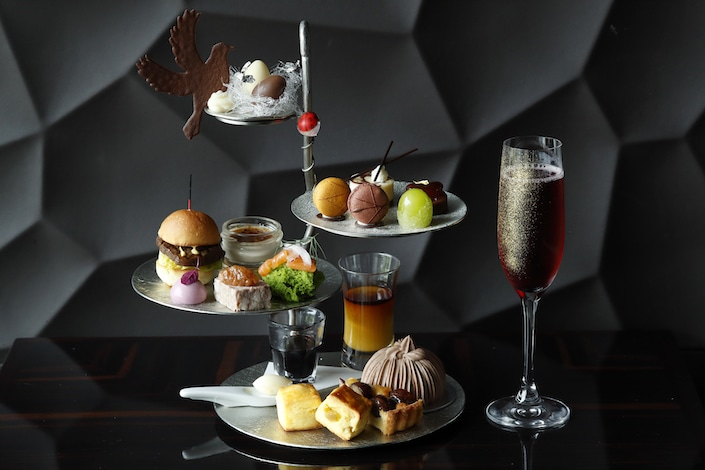 Palace Hotel Tokyo Lounge Bar Prives Autumn 2018 Afternoon Tea H2