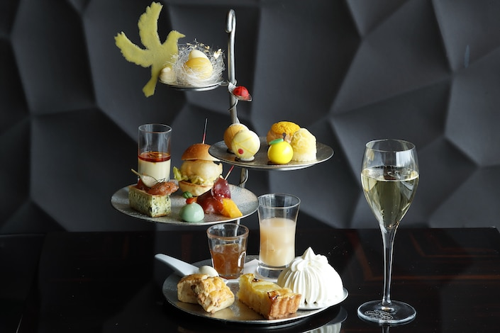 Palace Hotel Tokyo Lounge Bar Prives Summer 2018 Afternoon Tea H2