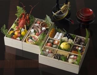 Palace Hotel Tokyo New Years Osechi Ryori Presentation by Wadakura H2