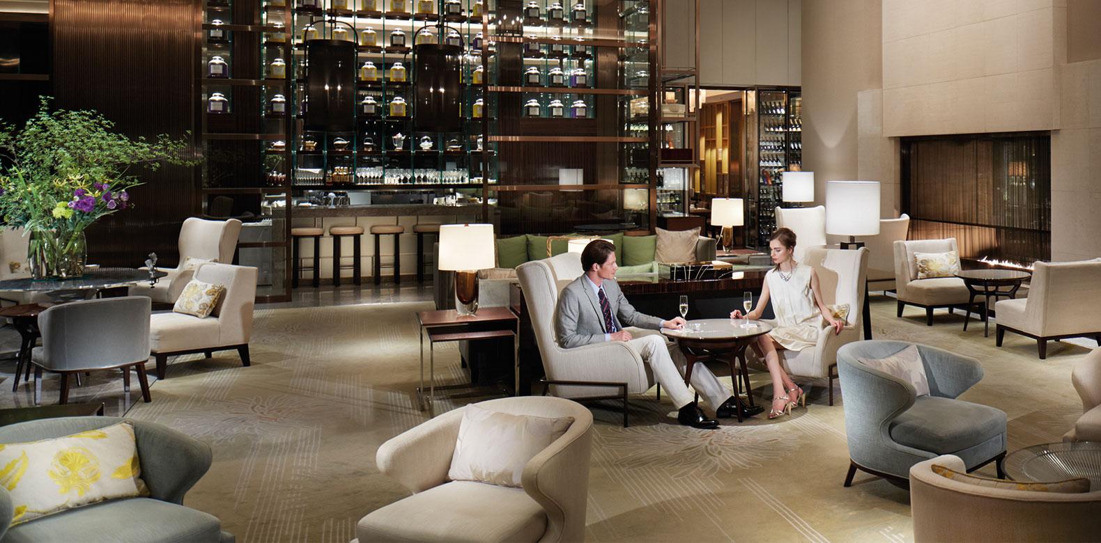 Palace Hotel Tokyo Palace Lounge Model