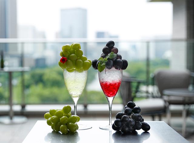 Palace Hotel Tokyo Prive Autumn 2020 Premium Grape Cocktails H2