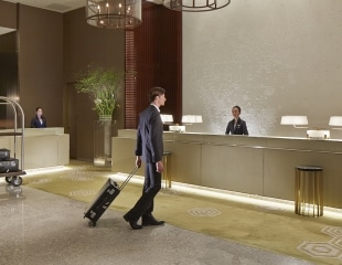 Palace Hotel Tokyo – Reception Lobby with Model – F2
