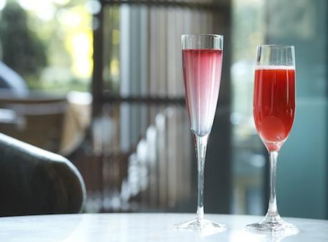 Palace Hotel Tokyo – Spring 2015 Sakura Rose Champagne Cocktails – H