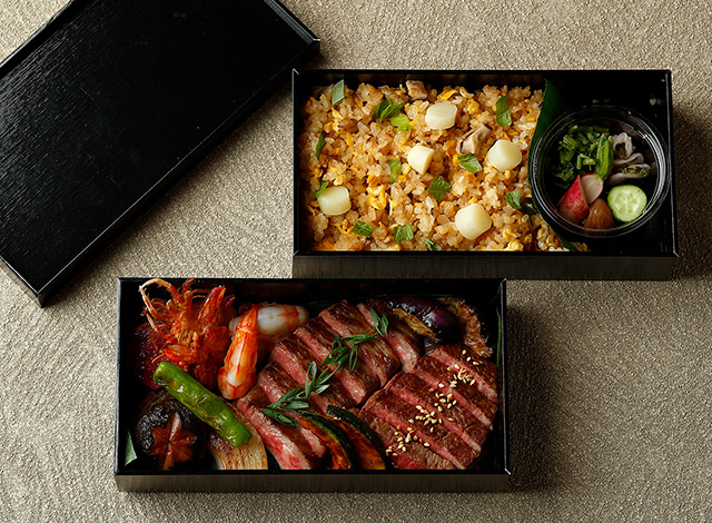 Palace Hotel Tokyo Takeout GO Beef over Rice H2