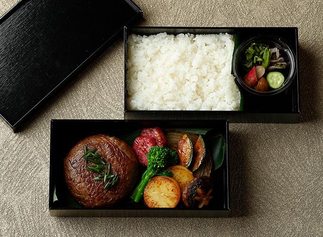 Palace Hotel Tokyo Takeout GO Wagyu Patty Box with Rice H2