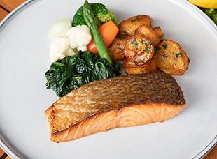 Palace Hotel Tokyo Takeout Grand Kitchen Scottish Salmon HT2