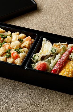 Palace Hotel Tokyo Takeout Tatsumi Conger Eel and Shrimp Tempura T2