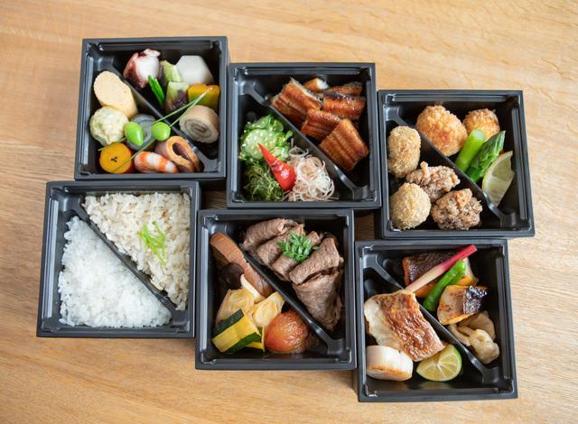 Palace Hotel Tokyo Takeout Wadakura Six tiered Lunch Box H2