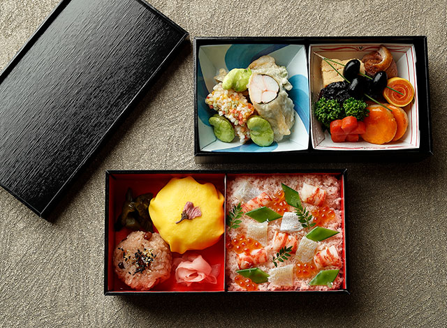 Palace Hotel Tokyo Takeout Wadakura Special lunch box H2