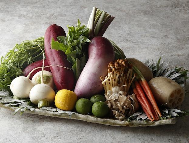 Palace Hotel Tokyo – Tatsumi Vegetables- Best Restaurants Tokyo
