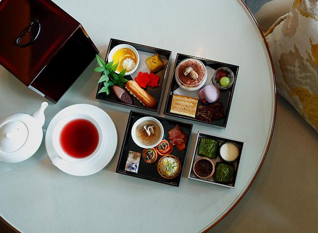 Palace Hotel Tokyo The Palace Lounge Autumn 2020 Autumn Afternoon Tea H2