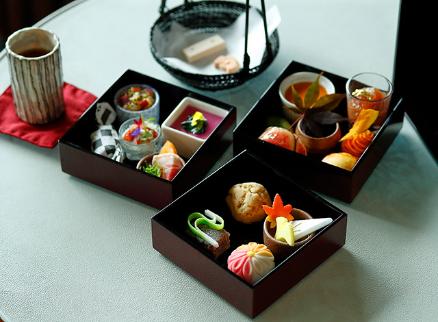 Palace Hotel Tokyo The Palace Lounge Autumn 2021 Collaboration Afternoon Tea II H2
