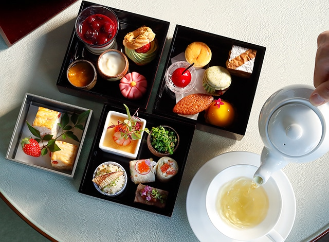 Palace Hotel Tokyo The Palace Lounge Spring 2020 Afternoon Tea H2