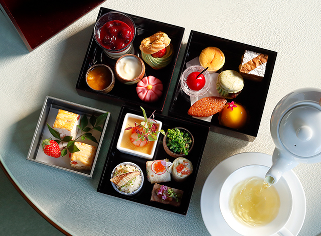 Palace Hotel Tokyo The Palace Lounge Spring 2021 Afternoontea H2