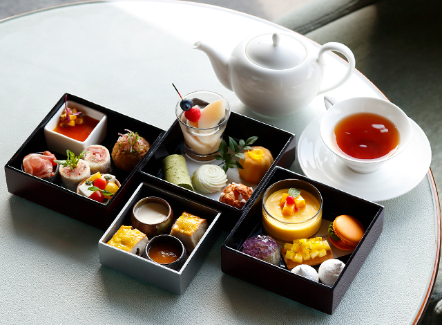 Palace Hotel Tokyo The Palace Lounge Summer 2020 Afternoon Tea H2