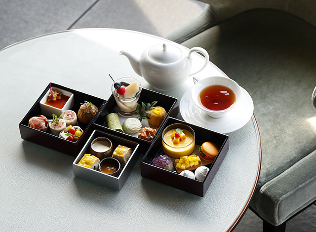 Palace Hotel Tokyo The Palace Lounge Summer 2021 Afternoon Tea H2