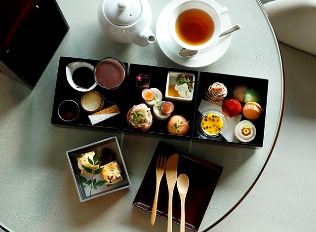 Palace Hotel Tokyo The Palace Lounge Winter 2020 Afternoon Tea H2