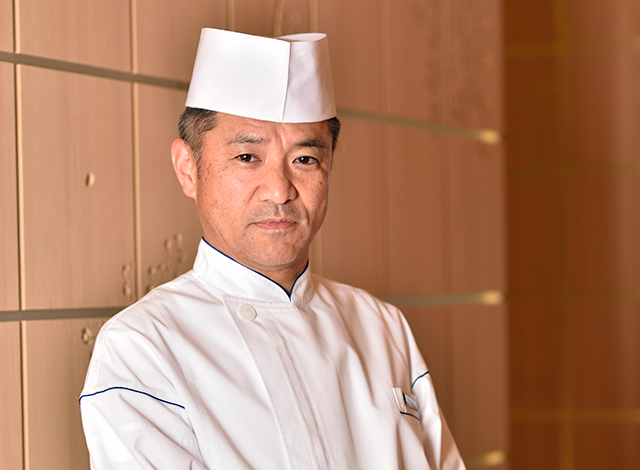 Palace Hotel Tokyo Wadakura Chef Keiji Miyabe H2