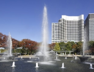 Image of Wadakura Fountain Park in Autumn