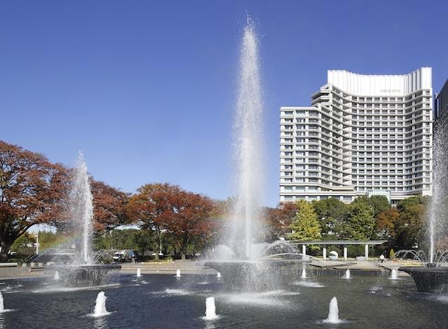 Palace Hotel Tokyo Wadakura Fountain Park in Autumn H2