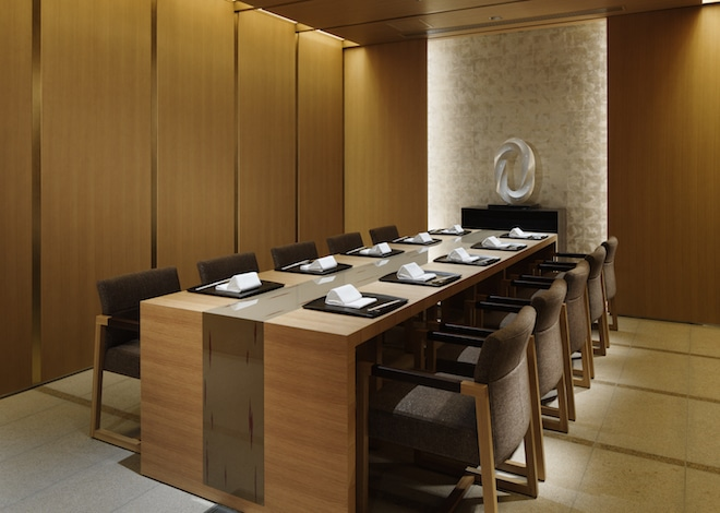 Tokyo restaurant-Palace Hotel Tokyo – Wadakura – Private Dining Room Western-style – H2