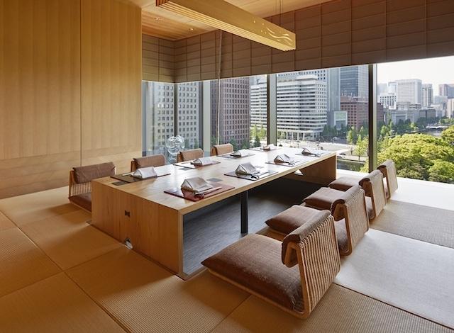 Tokyo restaurant-Palace Hotel Tokyo – Wadakura – Private Dining – Tatami Style – H2