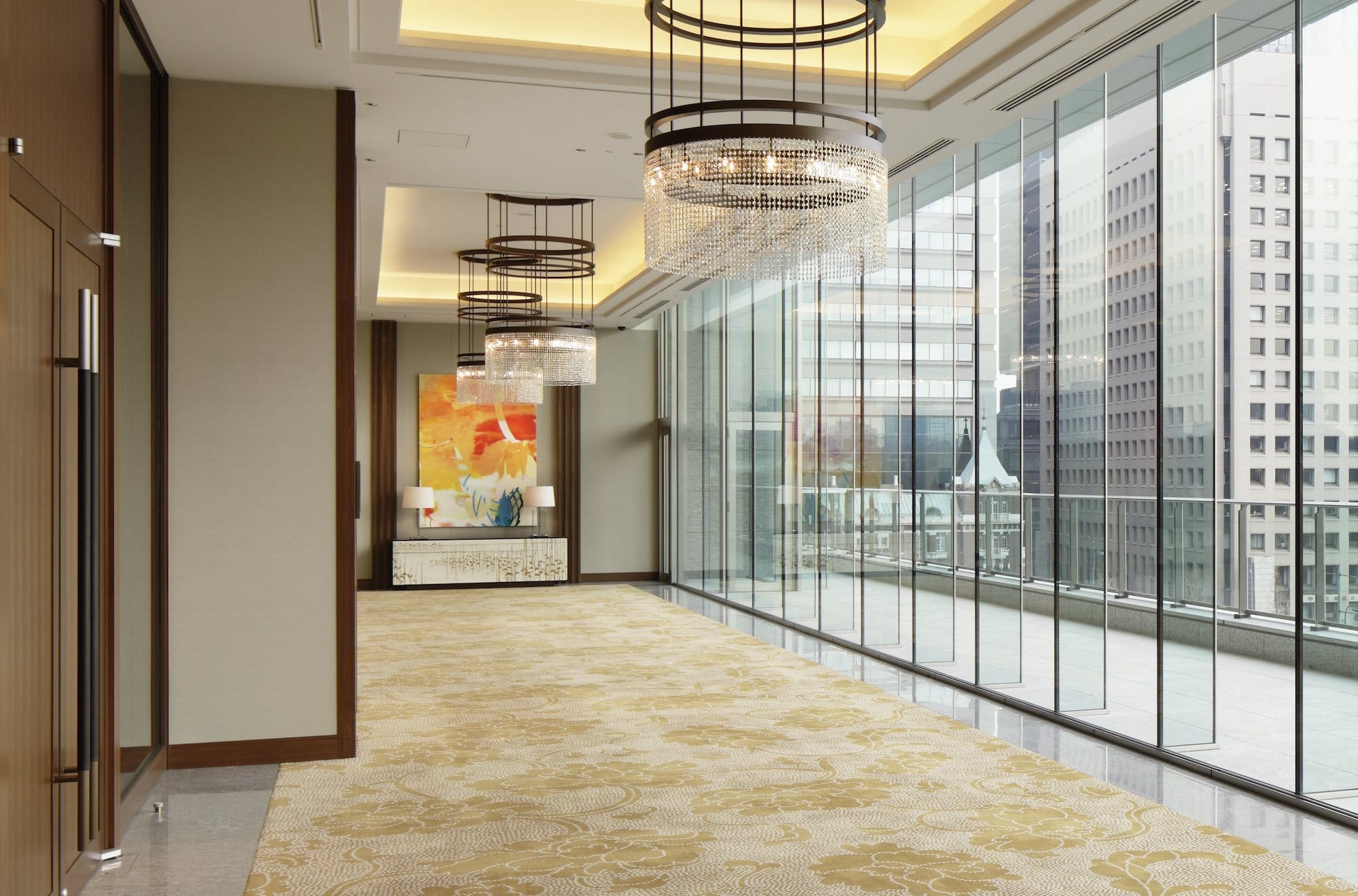 Palace Hotel Tokyo – Yamabuki Room – Interior Foyer – F2
