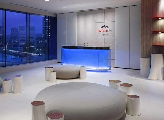 Palace Hotel Tokyo evian SPA Reception H2 V2