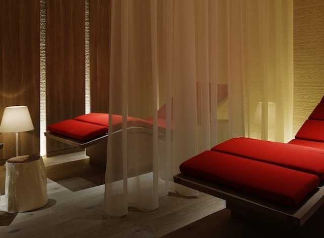 Palace Hotel Tokyo evian SPA Relaxation Lounge H2