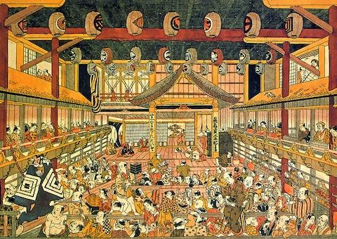 Kabuki Painting | Wiki Commons