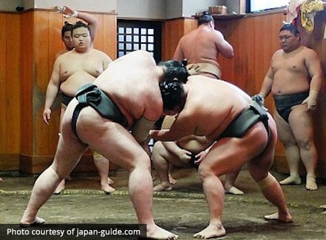 Sumo Stable in Japan
